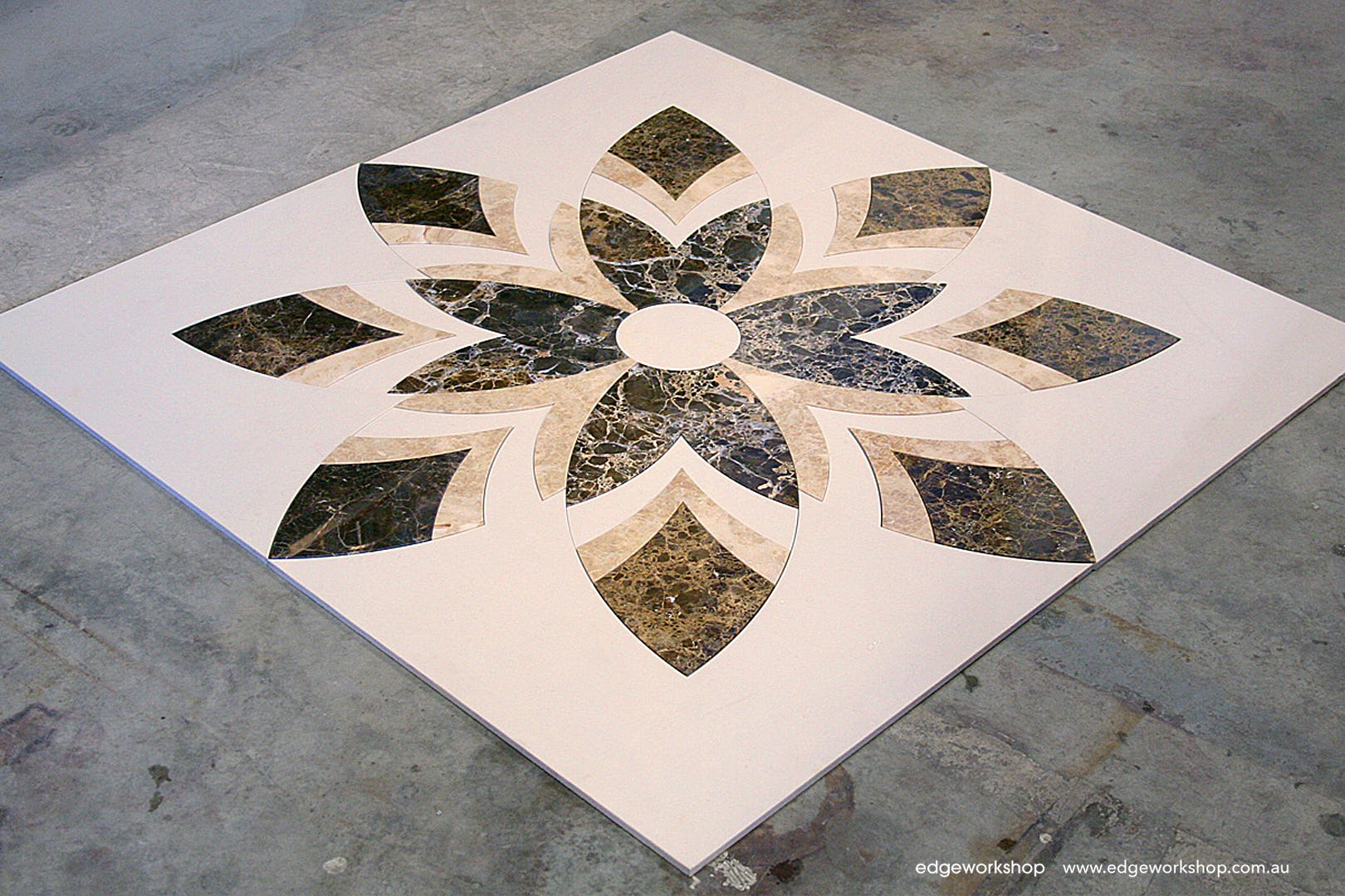 Stone ceramic tile inlays edgeworkshop show details dailygadgetfo Images